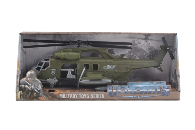 Army green inertial transport helicopter - CY371009